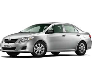 Nevis Car Rentals  - Toyota Corolla